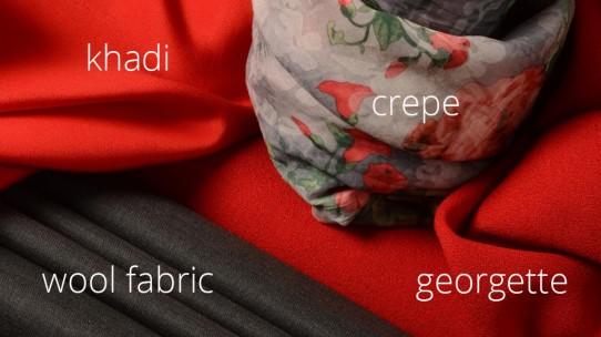 Khadi – wool – crepe